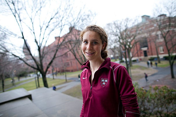 """We'll see where my fitness and career take me!"" said track and field star Claire Richardson '11, who is headed to Georgetown University next year. ""No matter what, running will always be a part of my life, and once I'm done competing on the track, I'll definitely move on to road and trail races."""