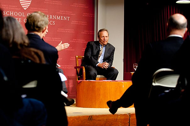 "The biggest challenges the American economy faces aren't rising debt or stagnant business, former Harvard President Lawrence Summers told an audience at the John F. Kennedy Jr. Forum, but ""increased inequality and decreased opportunity"" for the middle class. Even after the economy recovers, one in six men in the United States between the ages of 26 and 54 will remain unemployed, and the gap between America's wealthiest citizens and everyone else continues to grow."