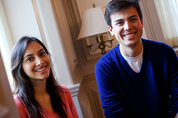 Niha Jain and Anthony Hernandez have been named Truman Scholars for their leadership potential in public service.