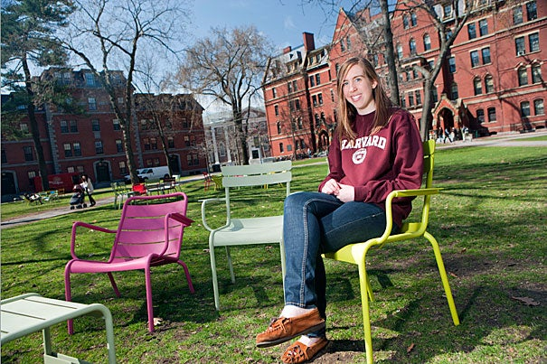 """Though I did not realize it at the time, the people and activities I would stumble upon over that weekend would set me on the trajectory to my current Harvard life,"" said Ginny Fahs '14, who visited Harvard through the April Visiting Program, now called Visitas, after accepting admission to the College."