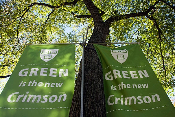 During Earth Month, Harvard will honor and recognize its faculty, students, and staff who have made significant contributions to greenhouse gas reduction and sustainability efforts during the second annual Green Carpet Awards on April 11.