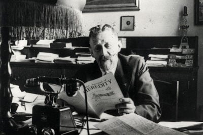 "Eugen Fischer, director of the Kaiser Wilhelm Institute for Anthropology, Eugenics, and Human Heredity from 1927 to 1942,  taught courses for SS doctors, served as a judge on Berlin's Hereditary Health Court, and provided hundreds of opinions on the paternity and ""racial purity"" of individuals."