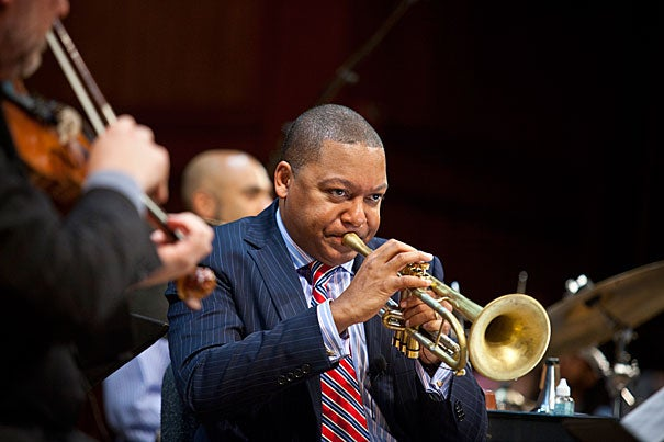 """Wynton Marsalis' appointment is the latest example of the University's closer embrace of the arts since a presidential task force called in 2008 for a concerted effort to increase the presence of the arts on campus. """"I am delighted that Harvard has recognized the need to make cultural literacy an integral part of its curriculum,"""" Marsalis said. """"I hope that other institutions will follow suit to foster a deeper appreciation among all Americans for the democratic victory of our cultural legacy."""""""