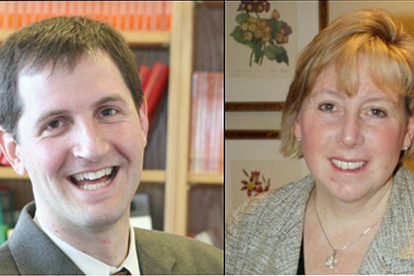 Daniel Shapiro, assistant professor of psychology at Harvard Medical School (HMS), and Kim Wilson, assistant professor of pediatrics at HMS and Children's Hospital Boston, are two of four faculty members recently named Burke Global Health Fellows.