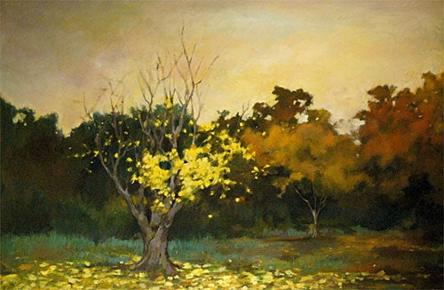 Falling Yellow