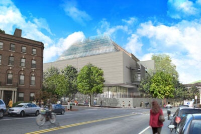 The Sackler and Busch-Reisinger museums will be prominently located in a new addition at the corner of Broadway and Prescott streets.