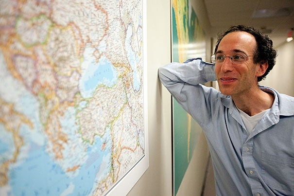 David Reich, a professor of genetics at Harvard Medical School, co-led a study that is expected to help researchers understand the roots of congenital conditions that occur more often in African-Americans.