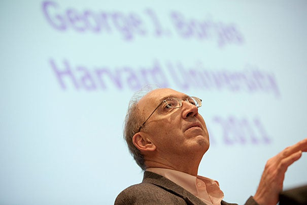 George J. Borjas is the Robert W. Scrivner Professor of Economics and Social Policy at Harvard Kennedy School. His academic work provided a theoretical and empirical framework for analyzing the welfare effects and distributional consequences of immigration. His studies demonstrate the need for high-skilled immigration and a selective immigration policy.