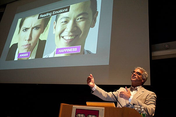 Professor Nicholas Christakis delivered the 2011 Opening Days Lecture, telling freshmen that human social networks have the power to spread obesity — or happiness — like contagion.