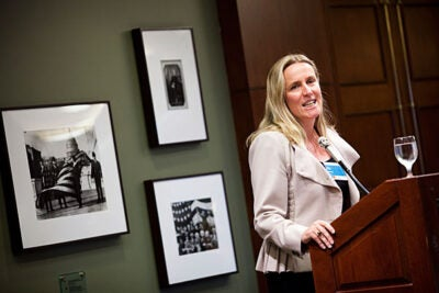 """Many organizations now want to change, want to close gender gaps, partly because it is the right thing to do … but also because it increasingly is the smart thing to do,"" said Kennedy School Academic Dean Iris Bohnet during an interview. ""Nudges change the environment ever so slightly — they change organizational practices, they change how we hire, how we promote people, creating a more equal playing field for men and women."""