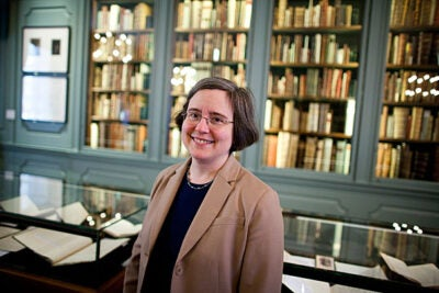"Henry Charles Lea Professor of History Ann Blair was named a Cabot Felllow for her book ""Too Much to Know: Managing Scholarly Information Before the Modern Age."""