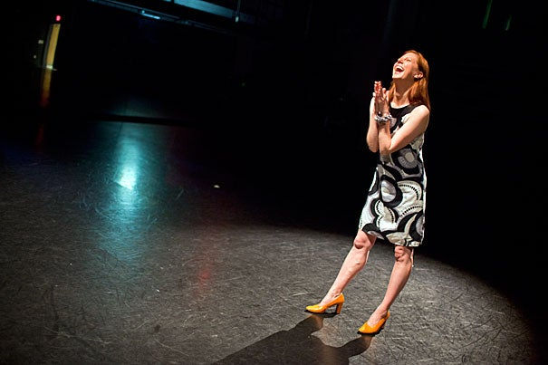 """""""I am fascinated by this idea of transdisciplinary investigation, and that dance is a substantive source of inquiry,"""" said Jill Johnson, a redhead with a bright smile and an outlook on life she likes to call her """"radical optimism."""" """"I want to cast a wide net and say this is about ideas."""""""