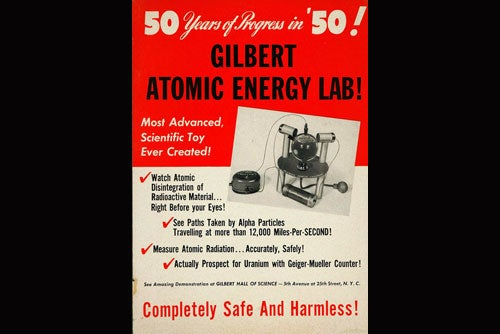 Nuclear physics at home
