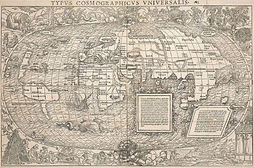 Cosmographic map