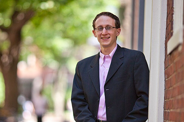 """My research work has been blessed with a wealth of advisers, collaborators, and resources. It has guided my academic life, and has even strengthened my already close-knit family ties,"" said Scott Kominers, who completed his Ph.D. in business economics in the spring of 2011."
