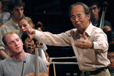 A memorial tribute for James Yannatos, leader of the Harvard-Radcliffe Orchestra for more than 45 years, will be held at 3 p.m. Dec 10 in Harvard's Sanders Theatre.