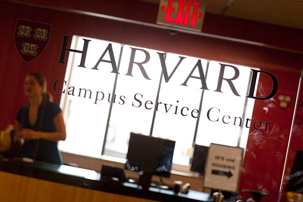 The renovated Campus Service Center handled thousands of requests in late summer.