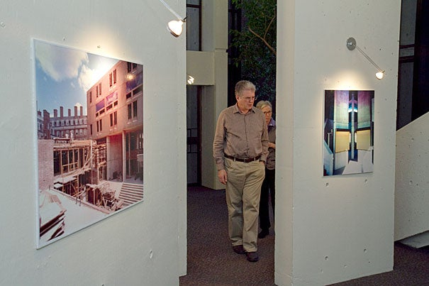 Mather House Co-Masters Michael Rosengarten and Christie McDonald have organized a retrospective exhibit of the House's design and construction in the Sandra Naddaff and Leigh Hafrey Three Columns Gallery. An opening reception will be held Tuesday.