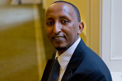 At Harvard, Mohamed Omar helps to ensure that the University is following environmental rules and regulations in its 700-plus buildings. Inspired by his day job, Omar completed a doctorate in cleaner production and pollution prevention at the University of Massachusetts, Lowell, School of Health and Environment.