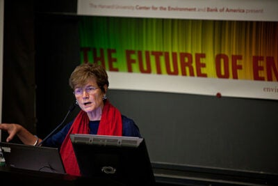 Susan Tierney, who was assistant secretary for policy at the U.S. Department of Energy under President Bill Clinton, said that pollution and environmental problems do occur in conjunction with shale gas extraction, but because the fracking occurs thousands of feet below the deepest aquifers, problems are most likely tied to how the well penetrates the aquifer rather than the fracking process itself.