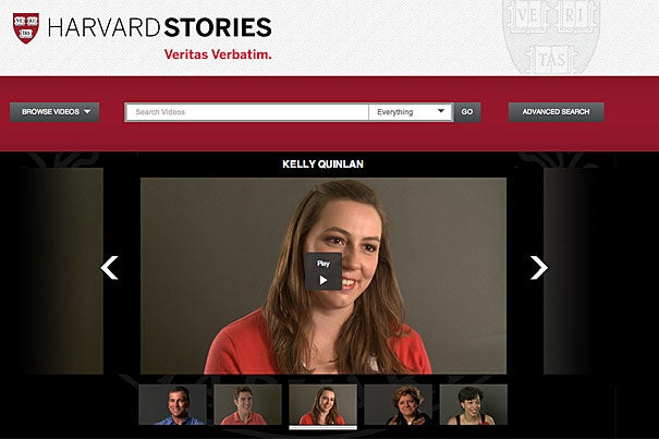 Harvard Stories showcases engaging personal narratives from members of the Harvard community.