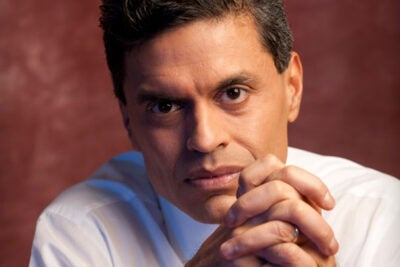"Fareed Zakaria was born in India and earned a B.A. from Yale College before receiving his Ph.D. in government from Harvard in 1993. Esquire magazine once called him ""the most influential foreign policy adviser of his generation,"" and in 2010 Foreign Policy named him one of the top 100 global thinkers."