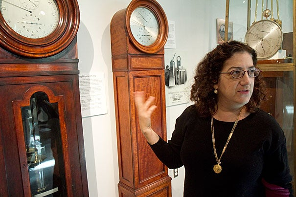 Sara Schechner, the David P. Wheatland Curator of the Collection of Historical Scientific Instruments, explains how Harvard played a vital role in standardizing time in the 1800s.