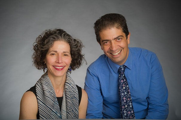 """""""There is great interest in creating systems for dealing with the short- and long-term health risks of a significant release of radiation, whether from an accident at a nuclear power plant, an act of terrorism, or even a small-scale incident in which a CT machine malfunctions,"""" said the study's lead author Eva Guinan (left) of Dana-Farber. The senior author is Ofer Levy (right) of Children's Hospital Boston. Both hospitals are Harvard affiliated."""