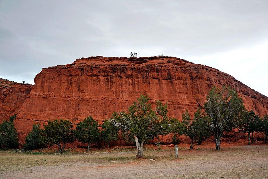 Jemez Red Rocks outside Jemez Pueblo. Jon Chase/Harvard Staff Photographer