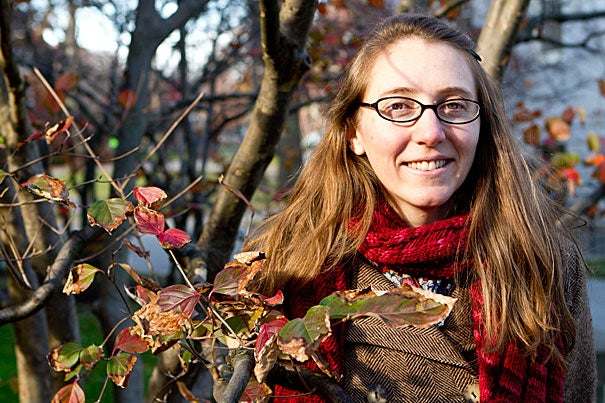 """""""There are lots of reasons why planting trees is a good thing,"""" said Abigail Swann, Giorgio Ruffolo Post-Doctoral Fellow in Sustainability Science. """"There are many local benefits. But when you think about it as a global-scale climate mitigation strategy … we need to think about what some of the side effects would be."""""""