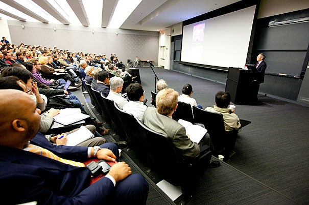 "U.S. Energy Secretary Steven Chu delivered the 2011 Bloch Lecture, ""The Role of Science, Technology and Innovation in Solving the Energy Challenge,"" and said that said the economic benefits of the emerging clean-energy industry will be reaped elsewhere if the business is not encouraged in the U.S. first."