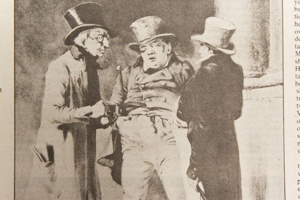 """The late Professor David Owen's """"In Defense of Scrooge,"""" a humorous and historic ode to the iconic novella, was a Winthrop House annual tradition for many years."""