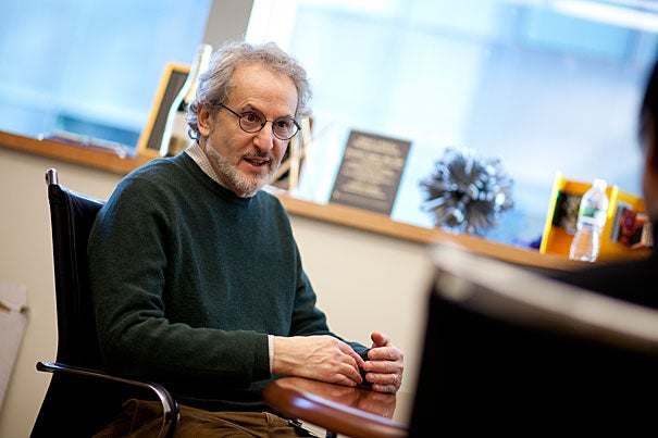 New research, led by Wyss Institute founding director Donald Ingber (pictured), uses nanoparticles that can be programmed to deliver drug or stem cell therapies to specific disease sites. This is considered an excellent alternative to systemic treatments because improved responses can be obtained with significantly lower therapeutic doses and hence, fewer side effects. The research was co-led by Kaustabh Ghosh, a former postdoctoral fellow at Harvard-affiliated Children's Hospital Boston.