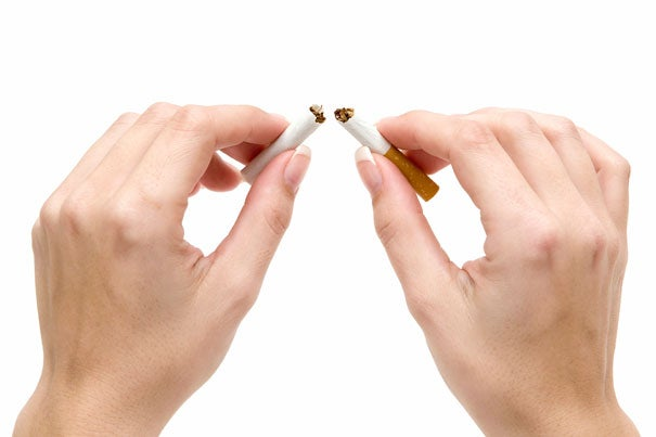 """This study shows that using NRT [nicotine replacement therapies] is no more effective in helping people stop smoking cigarettes in the long term than trying to quit on one's own,"" said Hillel Alpert, a research scientist at Harvard School of Public Health and lead author of the study."