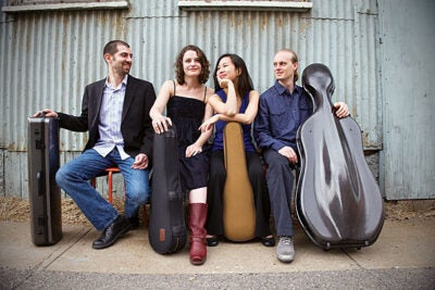 The Chiara Quartet will perform a free concert on Feb. 17. The quartet includes Jonah Sirota on viola, Rebecca Fischer and Hye Yung Julie Yoon on violins, and Gregory Beaver on cello.