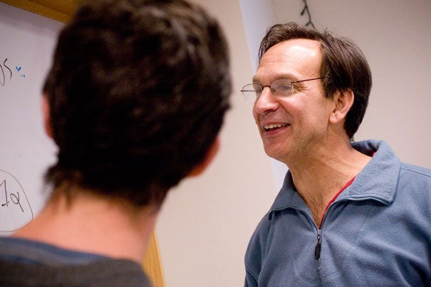 """""""There has been a feeling in the field that exercise 'talks to' various tissues in the body,"""" said Bruce Spiegelman (right), a professor of cell biology at Harvard Medical School. """"But the question has been, how?"""""""
