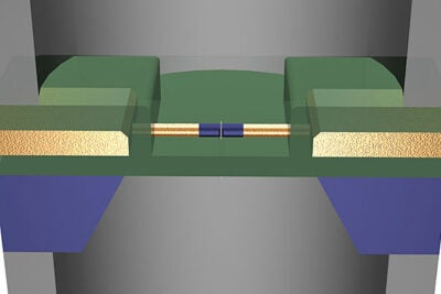 In a recent Nature Nanotechnology paper, researchers from Harvard demonstrated that nanowire transistors can locally read and amplify the DNA translocation signal from a nearby nanopore.