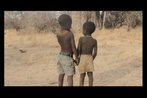 The social networks of the Hadza, a group of hunter-gatherers in Tanzania, show evidence that many elements of social network structure may have been present at an early point in human history. Courtesy of Harvard Medical School