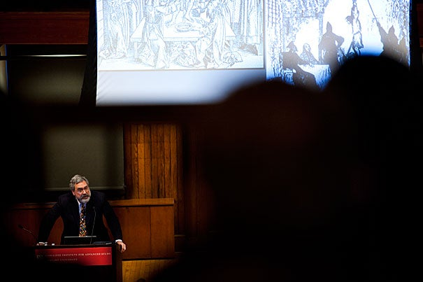 Princeton University historian Anthony Grafton, a leading cultural and intellectual historian of Renaissance Europe, suggested in a Radcliffe Institute talk that it was 16th-century scholar Joseph Scaliger, in particular, who led to the theory that the Last Supper may well have been in fact a Passover Seder.