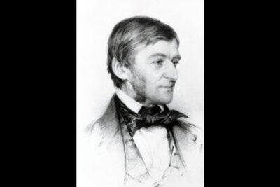 "Ralph Waldo Emerson argued for the notion that the divine speaks within each of us. That concept has the root of a radically ""democratic sentiment,"" said David Lamberth, professor of philosophy and theology, one ""antithetical to a tradition that took Jesus as the exemplar rather than one example among many."""