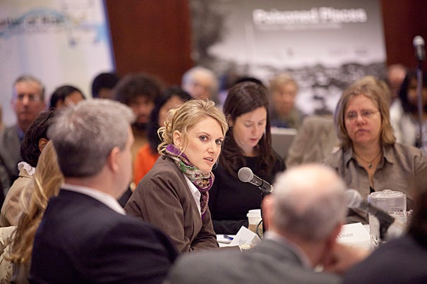 "The investigative team at ABC News' ""20/20"" spent months building trust and developing relationships with former Peace Corps volunteers who had been assaulted or raped during their service. ""We had this feeling, 'This is big. This is bigger than these individuals,' "" said reporter Anna Schecter (second from left). ""I think that got them fired up"" to participate in the story."
