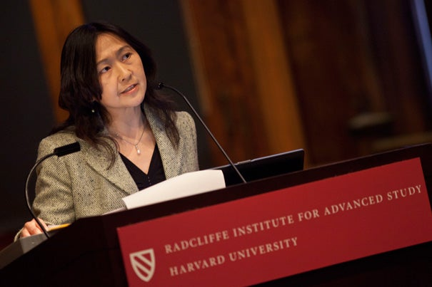 In the United States, middle-class immigrant parents interviewed by Pei-Chia Lan revealed a strong interest in their child's academic success. But that drive, she suggested, is often motivated by a sense that their child has to make up for a racial bias. As a fellow at the Radcliffe Institute for Advanced Study, Lan is exploring how Taiwanese and Chinese immigrants negotiate cultural differences in child rearing.