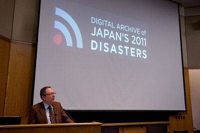 "This week, the Edward O. Reischauer Institute of Japanese Studies and other partners are ready for the initial version of the Digital Archive of Japan's 2011 Disasters to go live. ""It's been a difficult year, but I think we are doing something that will prove valuable and meaningful to many people,"" said Reischauer Institute Director Andrew Gordon."