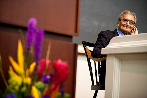 Amartya Sen, the Thomas W. Lamont University Professor at Harvard, will be presented with the Thomas C. Schelling Award, bestowed annually to an individual whose remarkable intellectual work has had a transformative impact on public policy.