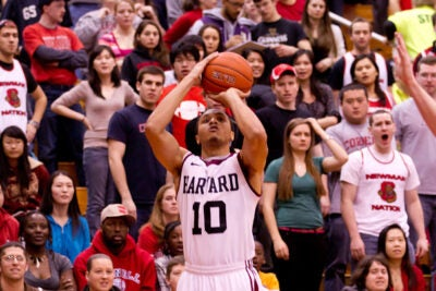 Brandyn Curry '13 helped his team clinch at least a share of its second straight Ivy League title with a 67-63 win at Cornell Saturday evening.