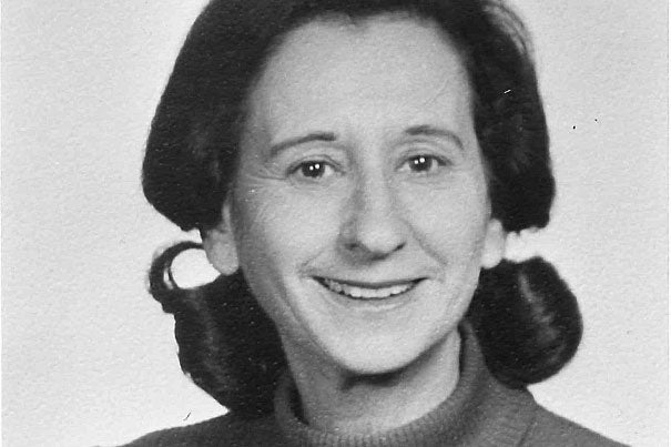 """A scholar of German and comparative literature, Dorrit Cohn was one of three women appointed to the Faculty of Arts and Sciences in 1971. """"Dorrit Cohn's 'Transparent Minds' was a breakthrough work, a brilliant meditation on how fiction enables us to read the minds of others,"""" said Maria Tatar, the John L. Loeb Professor of Germanic Languages and Literatures."""