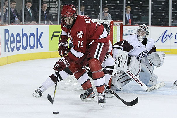 Senior Alex Killorn led all ECAC Hockey players with 10 points in the league tournament.