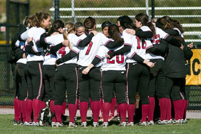 """The lady Crimson, the defending Ivy League Champions, have """"had a target on our back this year,"""" said coach Jenny Allard. """"The team has responded by focusing on their own level of play and support for each other. They are 21 strong."""""""
