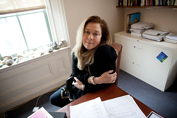 """... Harvard, sometimes anxious about its role as a leader in American art, truly got it right when it came to poetry. From its early days to the present moment — but most astonishingly throughout the whole 20th century — Harvard has made a truly unequaled contribution to American poetry,"" said Jorie Graham, herself a Pulitzer Prize-winning poet and the Boylston Professor of Rhetoric and Oratory. Graham is leading a celebration of Harvard's lyrical nursery by presenting a communal recitation of poetry titled ""Over the Centuries: Poetry at Harvard (A Love Story)"" on April 29."