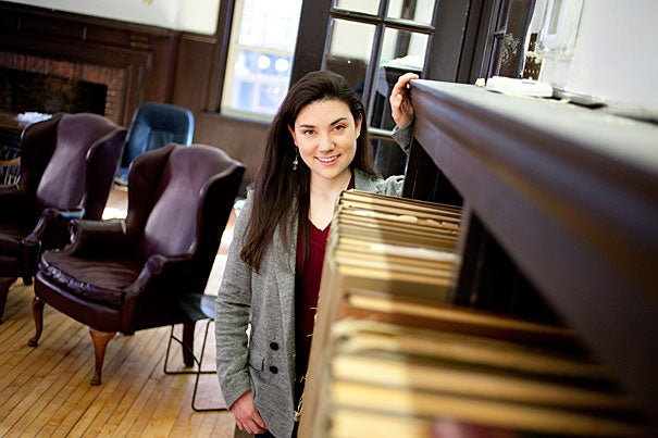 """Bridging the divide between medicine and its politics is the voice of the journalist. As a student of molecular biology and the history of science, this divide fascinates me,"" said Alyssa A. Botelho '13, who is planning to intern as a science reporter at The Washington Post this summer. ""Half of my time in college is dedicated to biochemical research, and the other half to understanding the communication between scientists and the public."""